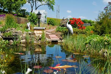 Mein ganz besonderer Tipp für den Teich: Fischtürme