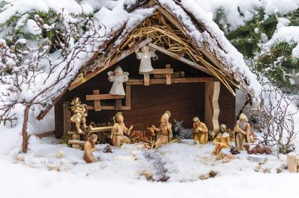 Artikel ist weihnachtliche Gartendeko.