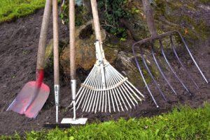 Der Artikel macht auf die anstehende Gartenarbeit aufmerksam.