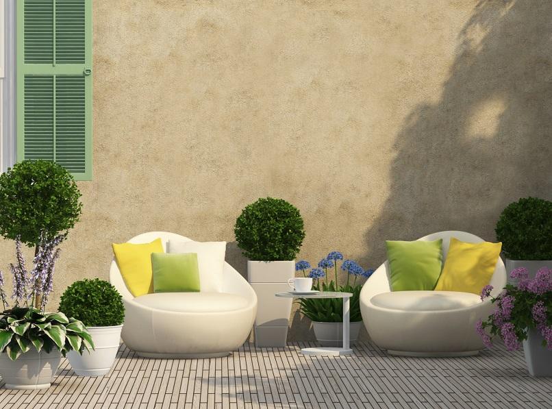 Gartenmöbel - die neuen Trendfarben und Materialien
