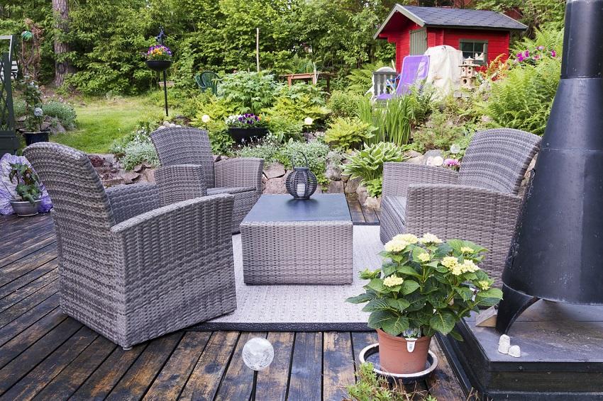 fr hjahrsputz jetzt die terrasse neu gestalten die gartenoase. Black Bedroom Furniture Sets. Home Design Ideas