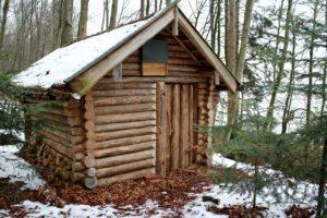 Urig und nachhaltig: Das Blockbohlenhaus